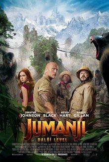 Jumanji: Další level poster