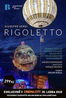Opera v Cinema City: Rigoletto poster