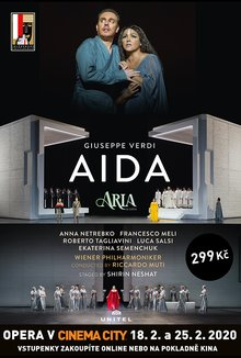 Opera v Cinema City: Aida poster